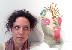 Laurie Berg (photo by Laurie Berg; mask by Tom Murrin)